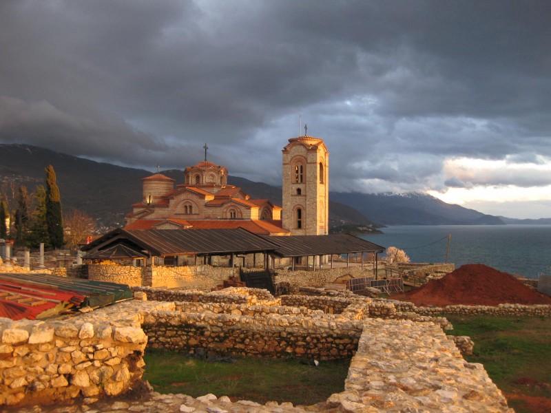 Plaosnik Kilisesi - Ohrid - 02