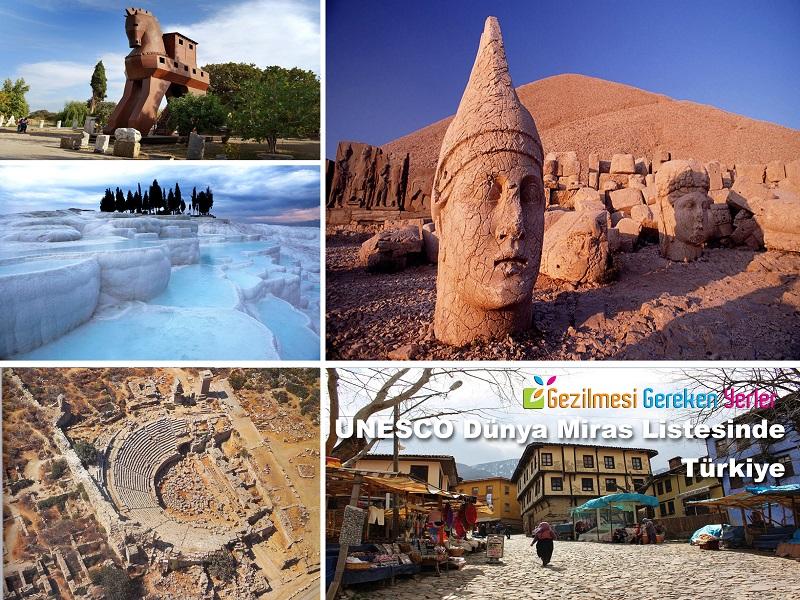 UNESCO Dünya Miras Listesinde Türkiye