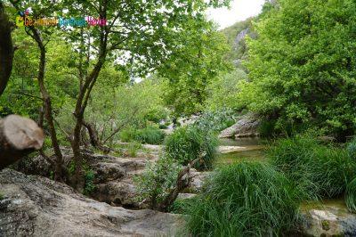 Ballıkayalar Tabiat Parkı Yürüyüş alanı