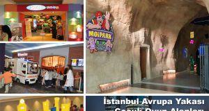 İstanbul Avrupa Yakası Çocuk Oyun Alanları Olan AVM ler
