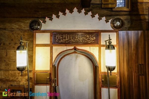 Samsun Çarşamba Göğceli Camii - Çivisiz Camii İç Kısmı