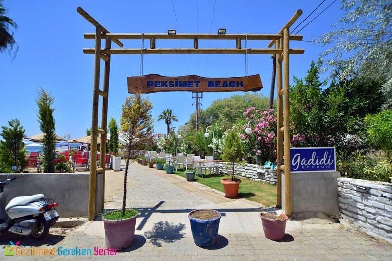 Peksimet Plajı Giriş Ücreti