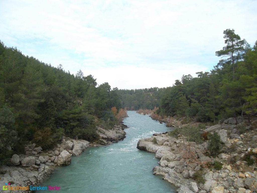 Köprülü Kanyon Milli Parkı Antalya