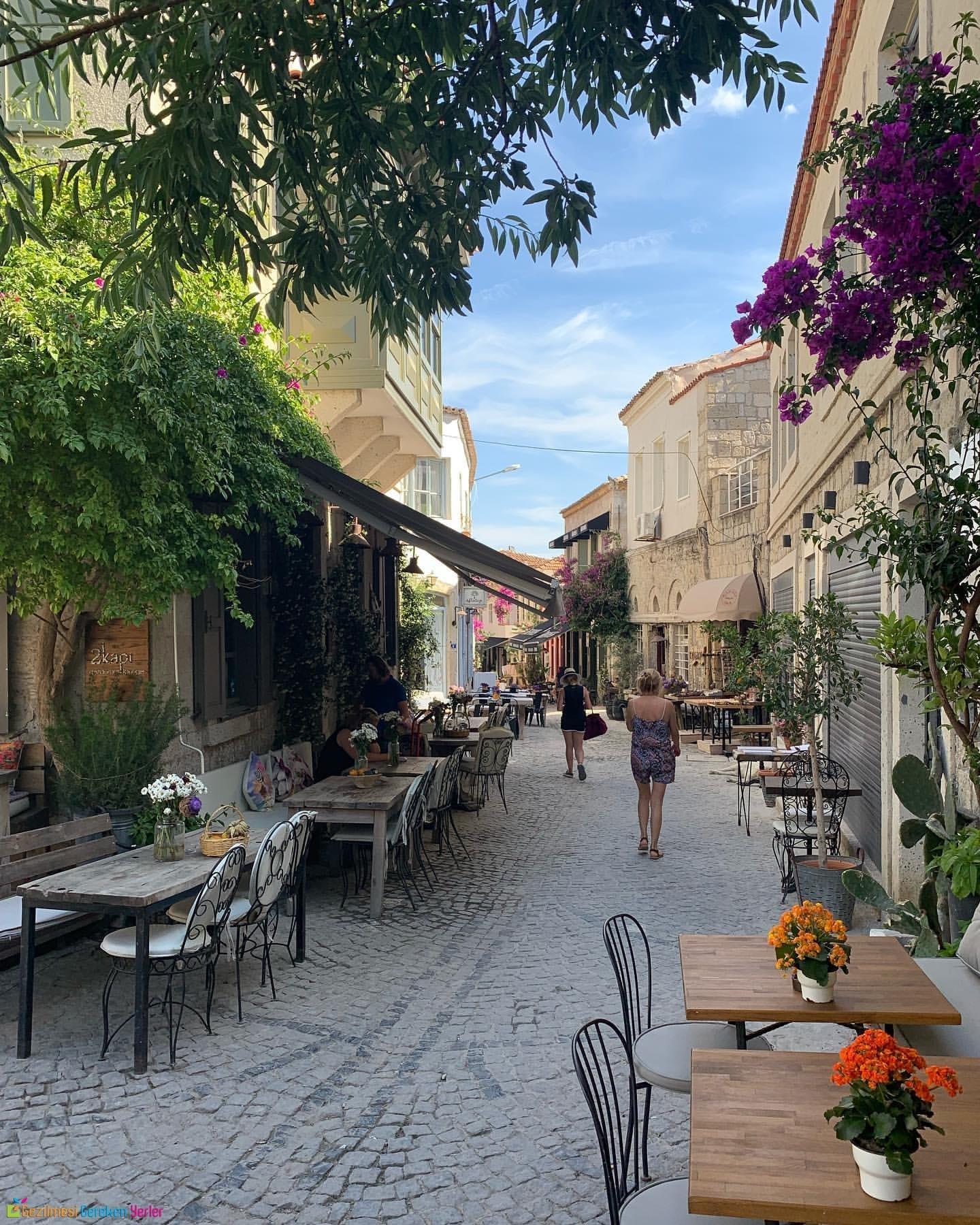 Alaçatı Cafeler İzmir