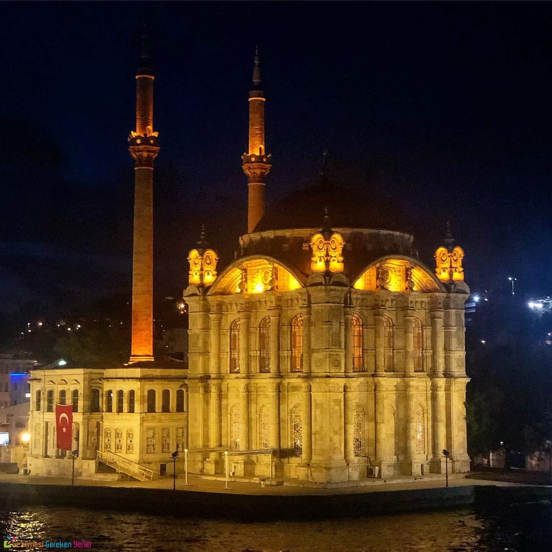 Ortaköy Camii İstanbul