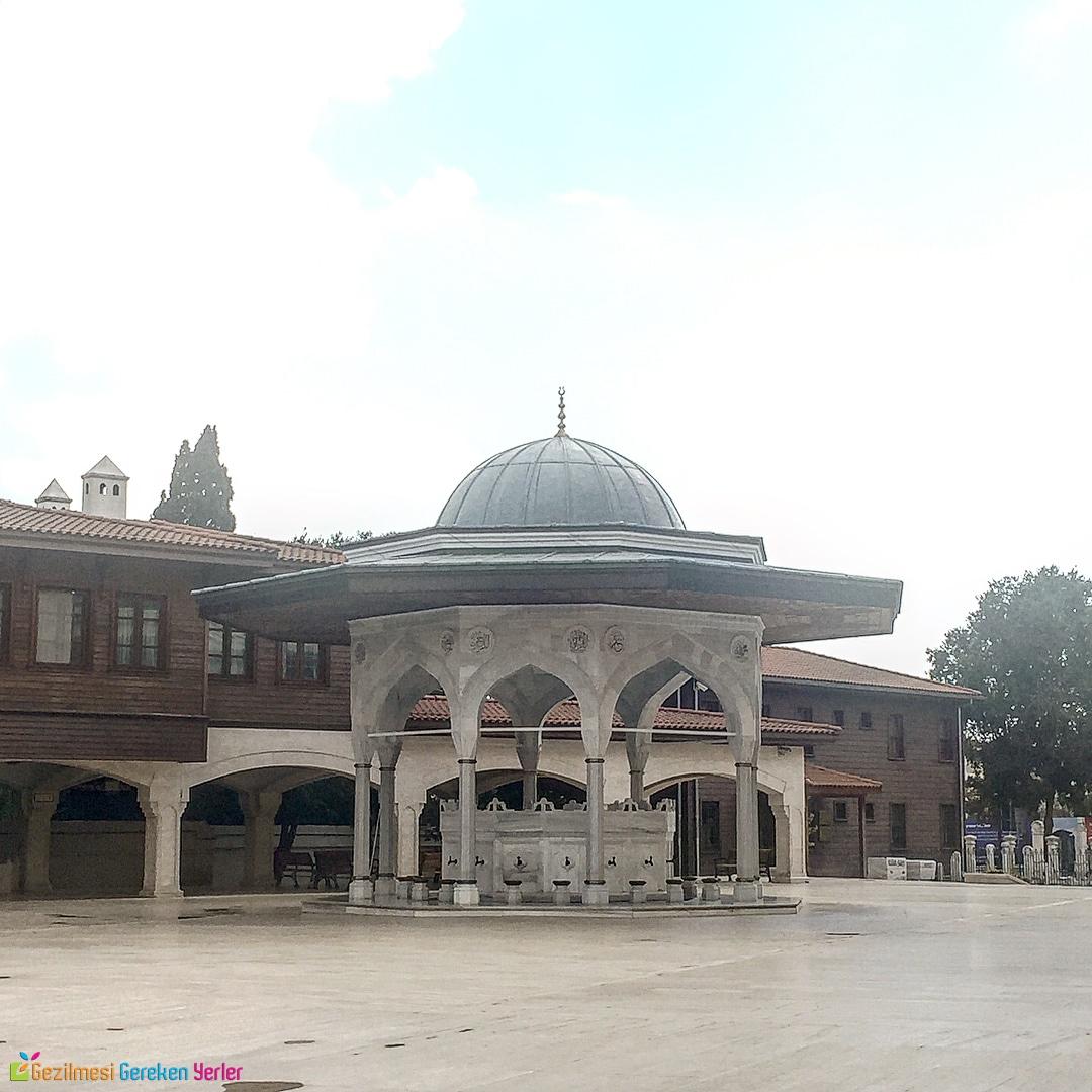 Seyyid Nizam Camii Avlusu