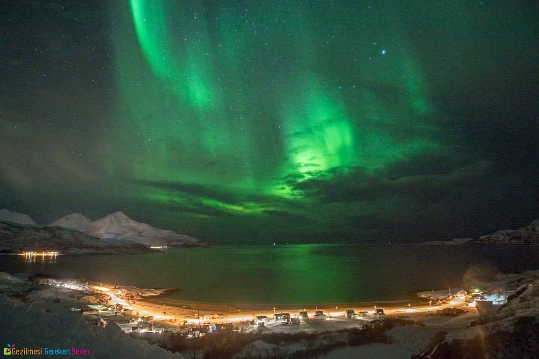 Kuzey Kutup Işıkları Finlandiya