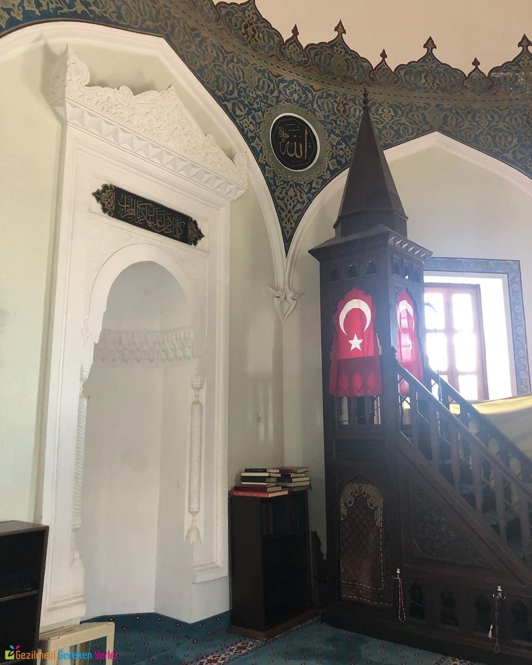 Konak Yalı Camii Mimari Özellikleri