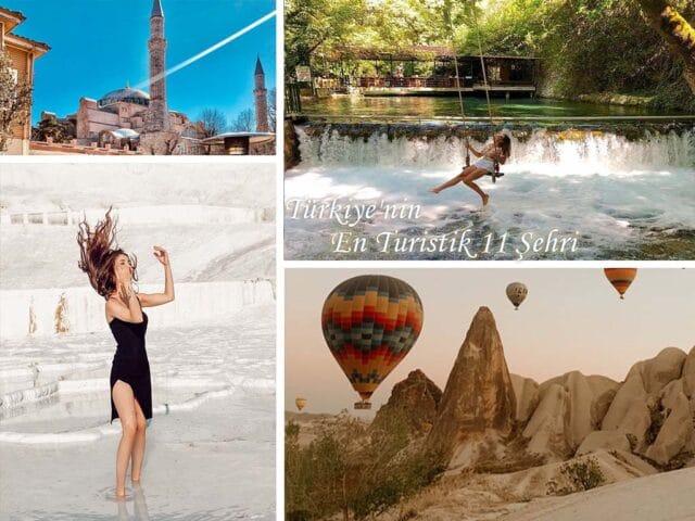Türkiye'nin En Turistik 11 Şehri