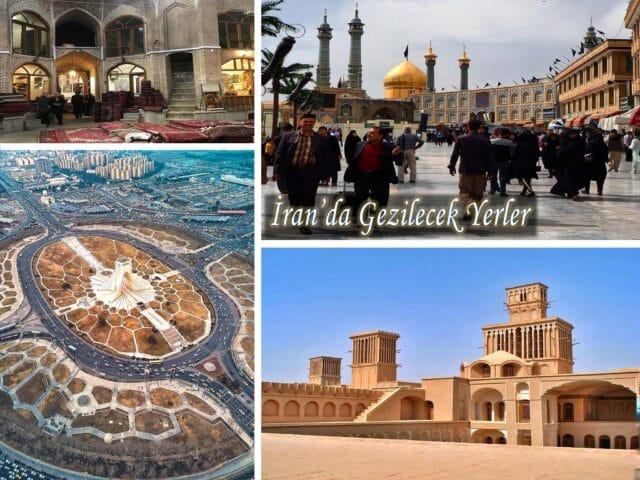 İran'da Gezilecek Yerler