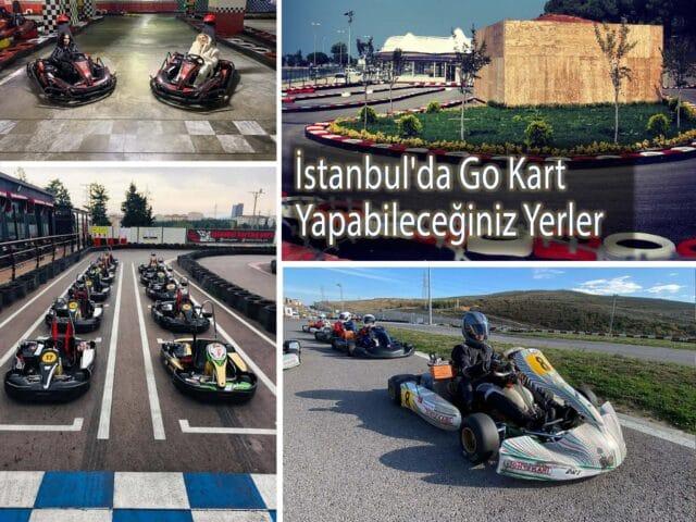 İstanbul'da Go Kart Yapabileceğiniz